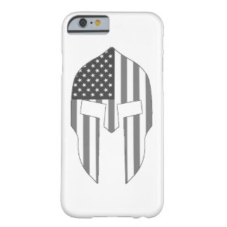 Spartan Grey Barely There iPhone 6 Case
