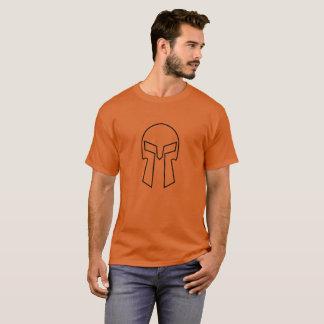 Spartan Helmet - Men's Basic Dark T-Shirt