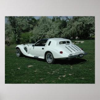 Spartan II Luxury Car Poster