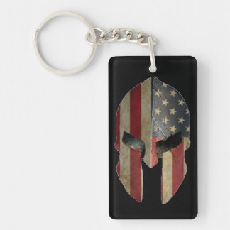 Spartan Key Ring