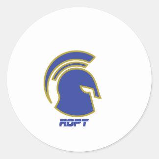Spartan Rob Donker Personal Training Round Sticker