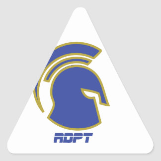 Spartan Rob Donker Personal Training Triangle Sticker