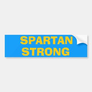 SPARTAN* STRONG Bumper Sticker
