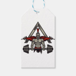 Spartan Warrior Gift Tags
