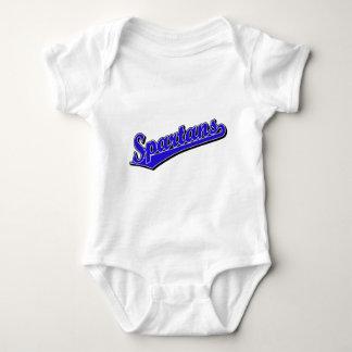 Spartans in Blue Baby Bodysuit