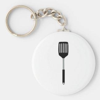 Spatula - Chef Basic Round Button Key Ring