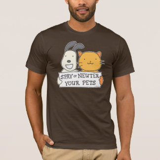 Spay or Neuter (Banner) T-Shirt