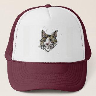 Spaz Cat Trucker Hat