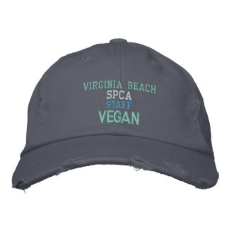 SPCA VEGAN EMBROIDERED HAT