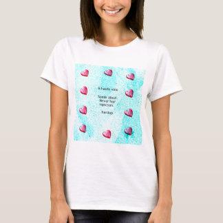 """""""Speak aloud. Never fear rejection."""" (Motivation) T-Shirt"""