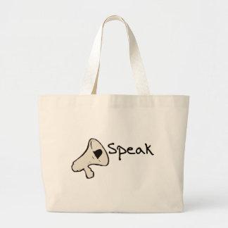 Speak Campaign Bags