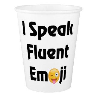 Speak Emoji Paper Cups