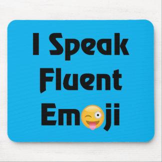 Speak Fluent Emoji Mouse Pad