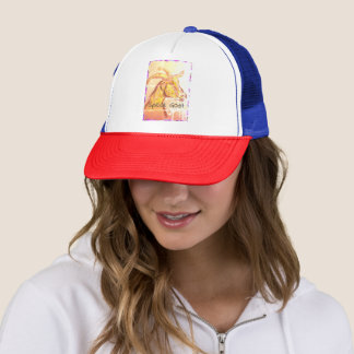 Speak Goat Trucker Hat