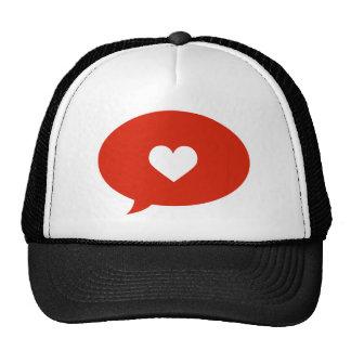 Speak of Love Mesh Hats