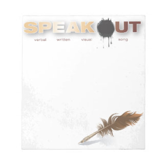 Speak Out Notepad
