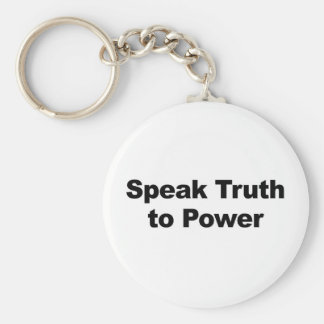 Speak Truth To Power Key Ring