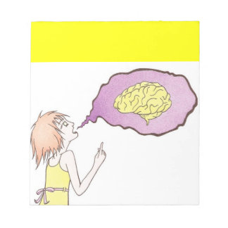 Speak your mind notepad
