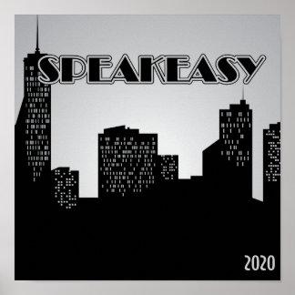 Speakeasy, 1920's Party Poster
