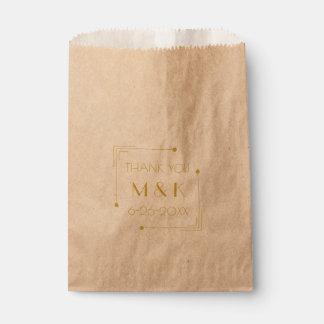 Speakeasy 1920s Wedding Thank You Gift Bag