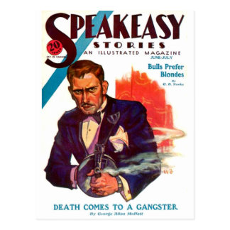 Speakeasy Postcard