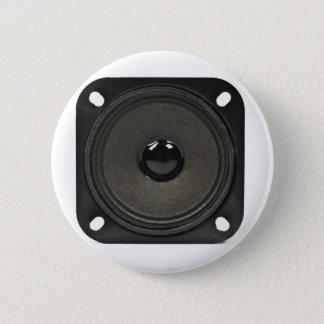speaker 6 cm round badge
