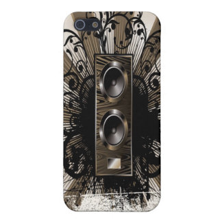 Speaker Grunge iPhone 5/5S Cover