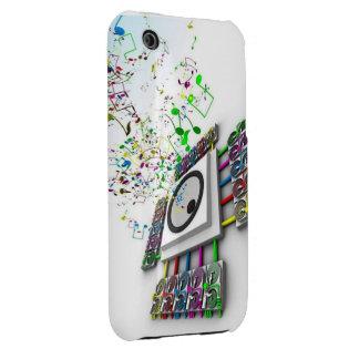 Speaker iPhone 3 Case-Mate Case