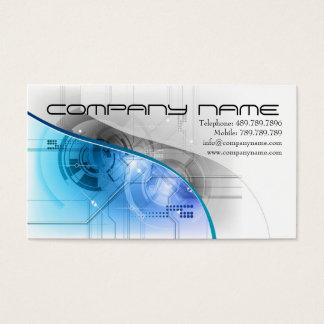 Speaker or  Sound Recording Music Teachnique Business Card