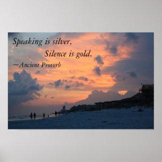 speech is silver but silence is gold İngilizce türkçe online sözlük tureng kelime ve terimleri çevir ve farklı  aksanlarda sesli dinleme speech is silver, but silence is gold söz gümüşse sükut  altındır.