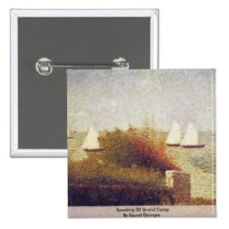 Speaking Of Grand Camp By Seurat Georges Buttons