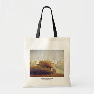Speaking Of Grand Camp By Seurat Georges Bags