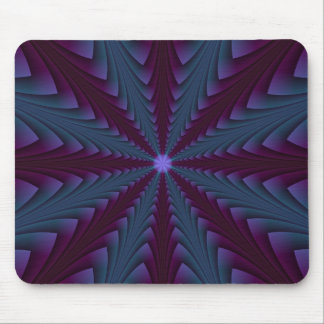 Spear-point in Blue and Purple Mousepad