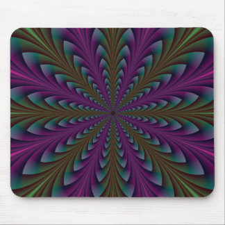 Spear Points in Purple and Green Mousepad