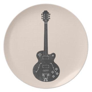 Spec Guitar Party Plates
