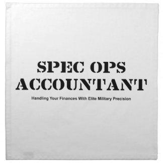 Spec Ops Accountant Napkin