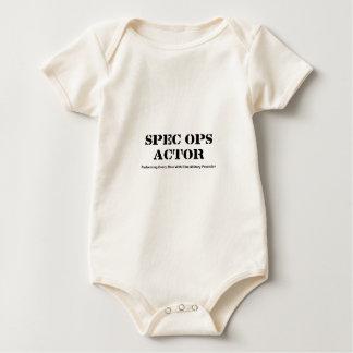 Spec Ops Actor Baby Bodysuit