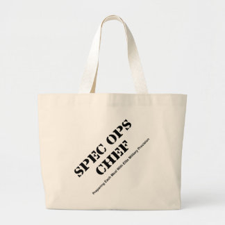 Spec Ops Chef Large Tote Bag