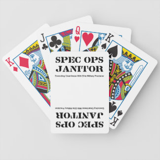 Spec Ops Janitor Playing Cards