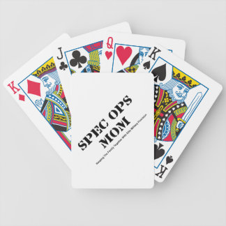 Spec Ops Mom Bicycle Playing Cards