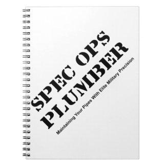 Spec Ops Plumber Notebooks
