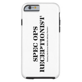Spec Ops Receptionist iPhone S6 Case