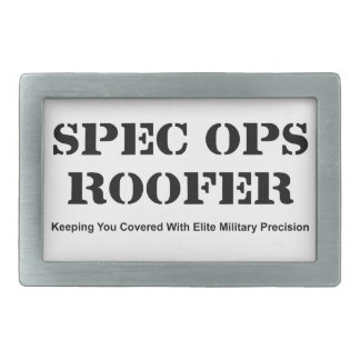 Spec Ops Roofer Belt Buckles