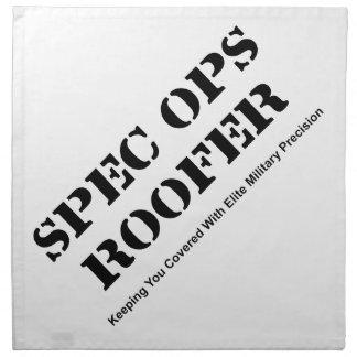 Spec Ops Roofer Napkin