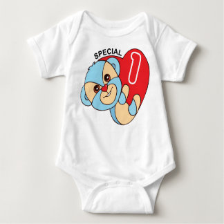 Special 1 Cute Cartoon's Bear character Baby Bodysuit