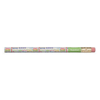 Special 65th Birthday Party Personalized Gifts Pencil
