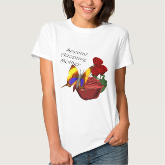 Special Adoptive Mother Mothers Day Gifts Tshirt