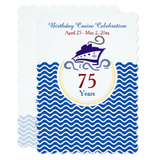 Special Birthday Cruise Celebration Invitation