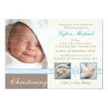 SPECIAL CHRISTENING INVITES :: precious 4L 13 Cm X 18 Cm Invitation Card