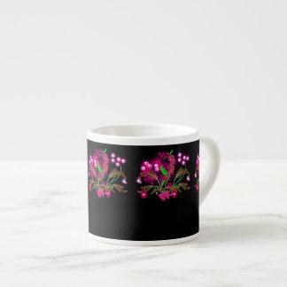 Special Christmas Decorative Expresso Mugs. Espresso Cup